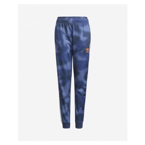 adidas Originals All-Over Print Spodnie dresowe dziecięce Niebieski