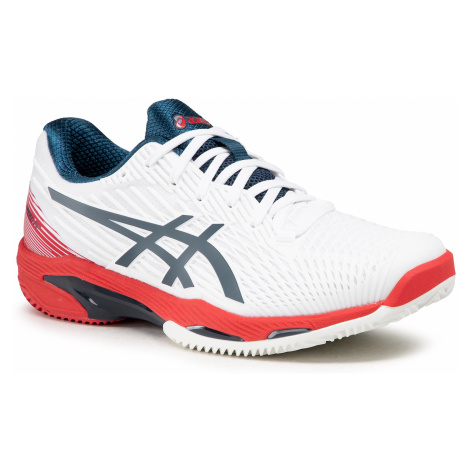 Buty ASICS - Solution Speed Ff 2 Clay 1041A187 White/Mako Blue 101