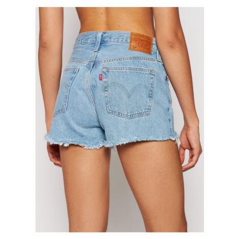 Levi's® Szorty jeansowe 501 High-Waisted 56327-0086 Niebieski Regular Fit Levi´s