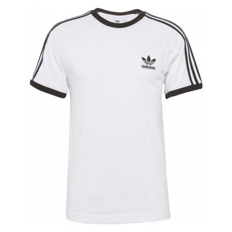 ADIDAS ORIGINALS Koszulka '3-Stripes' czarny / biały