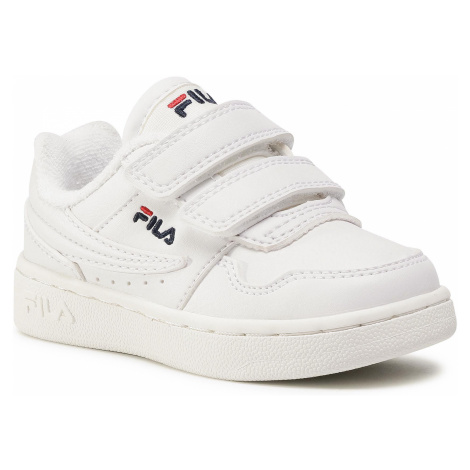 Sneakersy FILA - Arcade Velcro Infants 1011078.1FG White