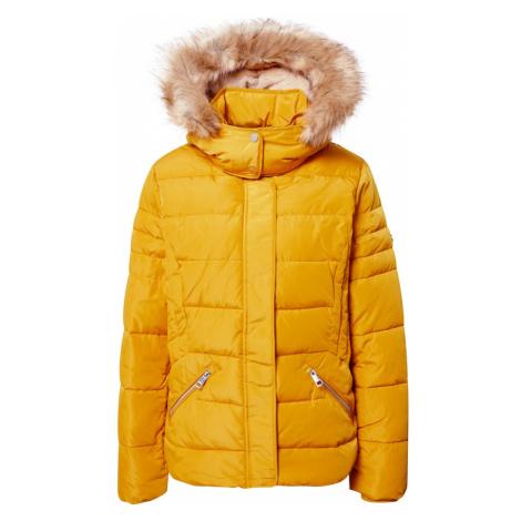 ESPRIT Kurtka zimowa żółty