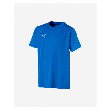 Puma Liga Koszulka dziecięce Niebieski