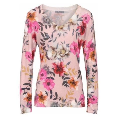 Heine Sweter mieszane kolory / różany