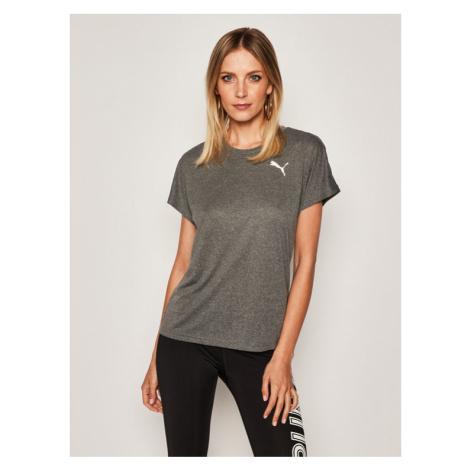 Puma Koszulka techniczna Active Mesh Heather Tee 851876 Szary Regular Fit