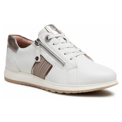 Sneakersy TAMARIS - 1-23755-26 White Leather 117