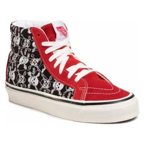 Vans Sneakersy Sk8-Hi 38 Dx VN0A38GFX7Z1 Czerwony