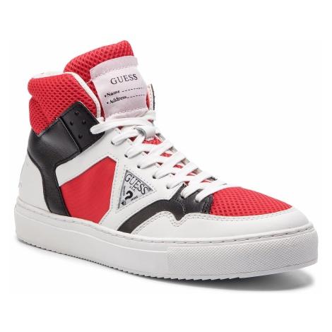Sneakersy GUESS - Bruce FM6BRU LEA12 WHIRE