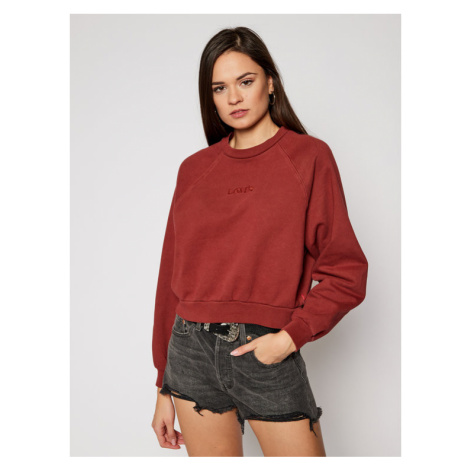 Levi's® Bluza Vintage Raglan 18722-0003 Bordowy Regular Fit Levi´s