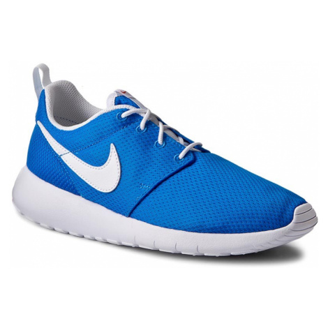 Buty NIKE - Roshe One (GS) 599728 422 Photo Blue/White/Safety Orange