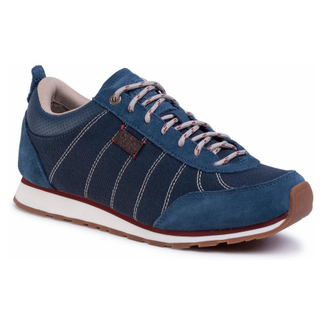 Sneakersy JACK WOLFSKIN - Mountian Dna Low W 4039331 Blue/Red