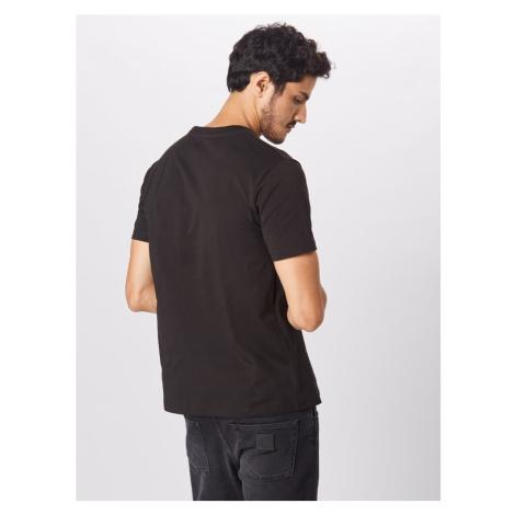 DIESEL Koszulka czarny / biały