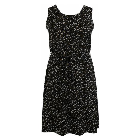 ABOUT YOU Curvy Sukienka 'Tamlyn' mieszane kolory / czarny