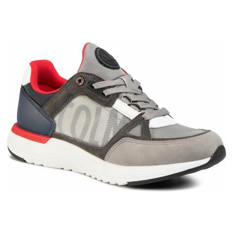 Sneakersy COLMAR - Supreme X-1 Kick 045 Lt Gray/Navy/Red