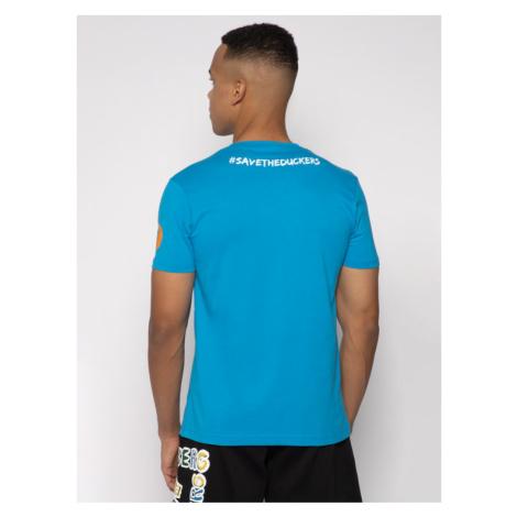 Save The Duck T-Shirt DT401M JESYX Niebieski Regular Fit