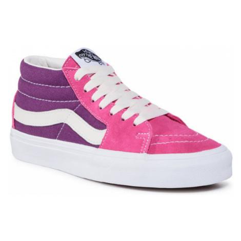 Vans Sneakersy Sk8-Mid VN0A3WM31UE1 Różowy