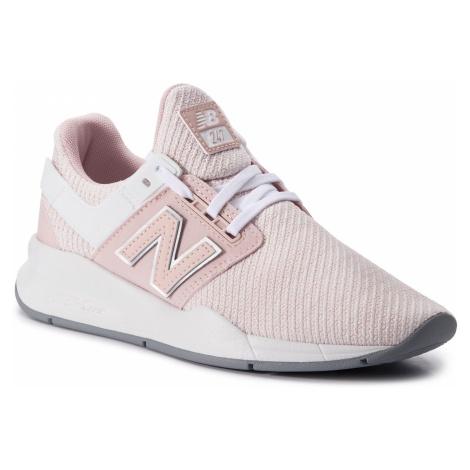 Sneakersy NEW BALANCE - WS247TI Różowy