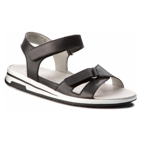 Sandały CAPRICE - 9-28610-20 Black Nappa 022