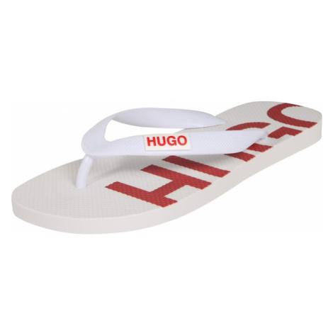 HUGO Japonki biały / jasnoczerwony Hugo Boss