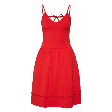 ONLY Letnia sukienka 'ONLADDY STRAP DRESS JRS' czerwony