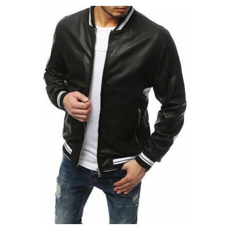 Black men's leather jacket TX3155 DStreet