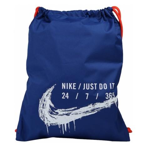 Nike Sportswear Plecak na sznurkach 'Y NK GMSK - GFX 2' niebieski / biały