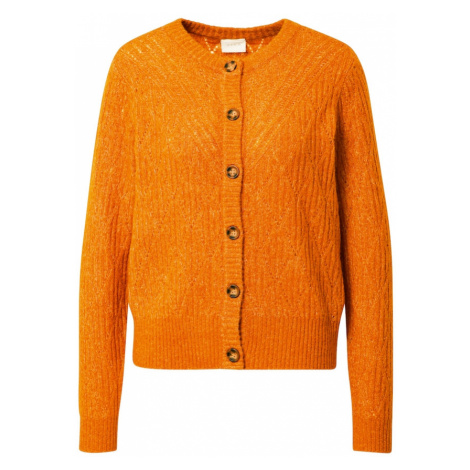 VILA Kardigan pomarańczowy
