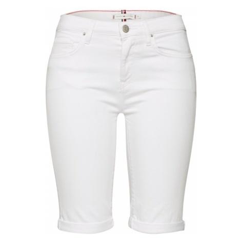 TOMMY HILFIGER Spodnie 'Venice' biały
