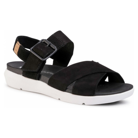 Sandały TIMBERLAND - Wilesport Lthr Sandal TB0A27T60151 Black Nubuck