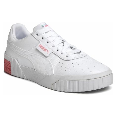 Sneakersy PUMA - Cali Jr 372843 09 Puma White/Peony/Mist Green