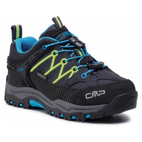 Trekkingi CMP - Kids Rigel Low Trekking Shoes Wp 3Q13244 Antracite/Yellow Fluo 34UF