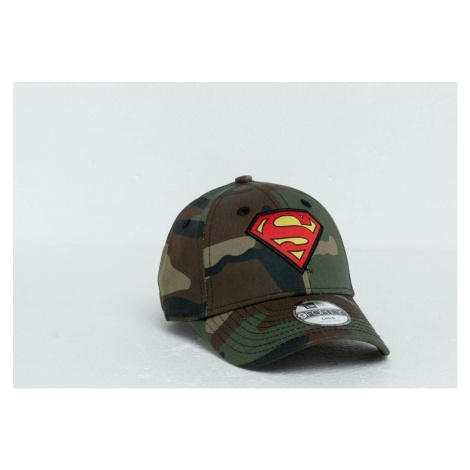 New Era Kids 9Forty Superman Character Cap Washed Camo