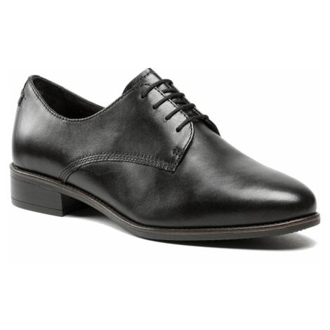 Oxfordy TAMARIS - 1-23303-26 Black Leather 003
