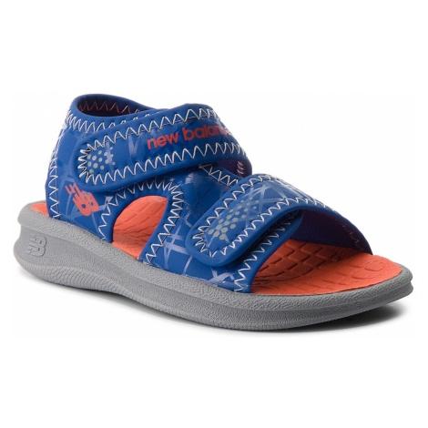 Sandały NEW BALANCE - K2031GBO Grey/Blue/Orange