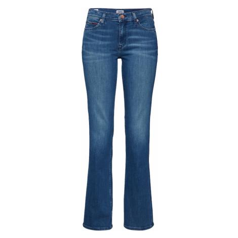 Tommy Jeans Jeansy 'MADDIE MR' niebieski denim Tommy Hilfiger