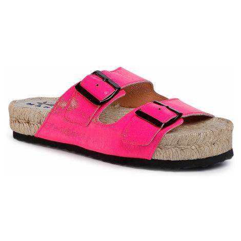 Espadryle MANEBI - Nordic Sandals F 9.1 R0 Pink Fluo