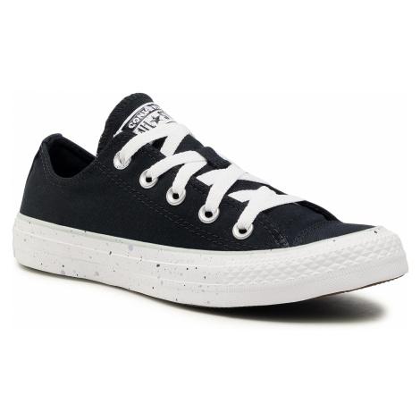 Tenisówki CONVERSE - Ctas Ox 567653C Black/White/Green Oxide