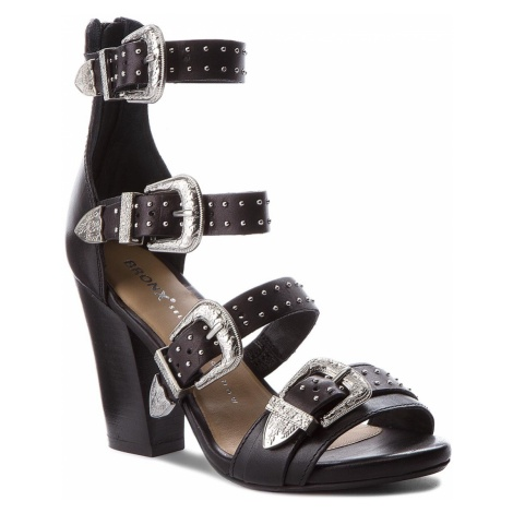 Sandały BRONX - 84613-A BX 1467 Black 01