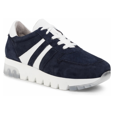 Sneakersy TAMARIS - 1-23749-24 Navy Suede 806