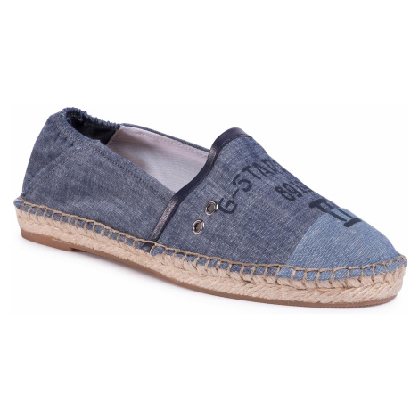 Espadryle G-STAR RAW - Base Denim Espadrille D16767-A608-89 Dk Aged