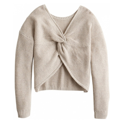 HOLLISTER Sweter beżowy