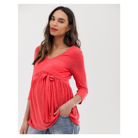 Mamalicious maternity 3/4 sleeve jersey top Mama Licious