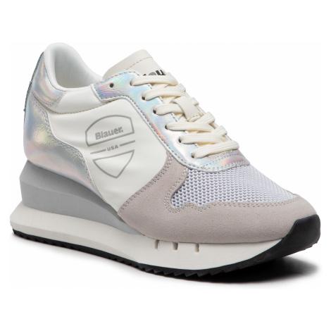 Sneakersy BLAUER - S1CASEY01/OLO White