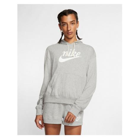 Nike Gym Vintage Bluza Szary