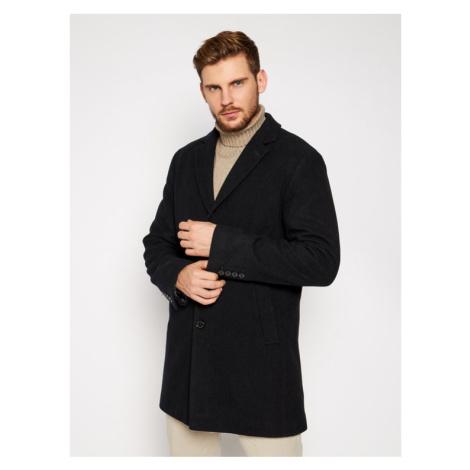 Pierre Cardin Płaszcz przejściowy 71780 4730 Czarny Regular Fit