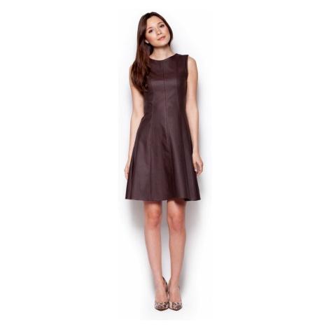 Sukienka damska M342 brown Figl