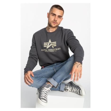 Bluza Alpha Industries Basic Sweater 178302-136 Greyblack