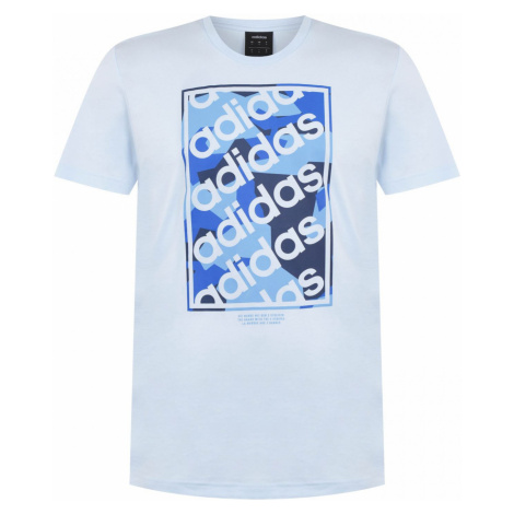 Adidas Camo Box Repeat QT T Shirt Mens