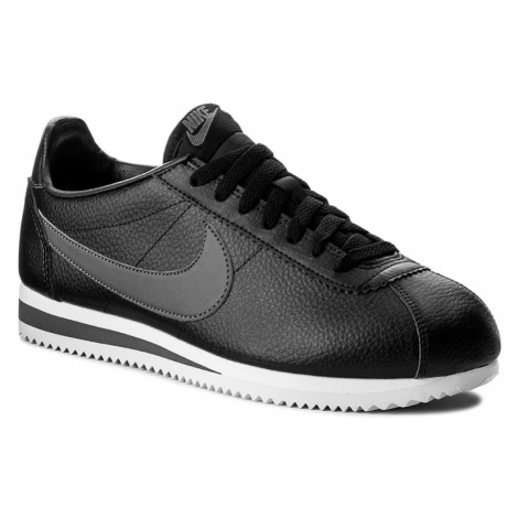 Buty NIKE - Classic Cortez Leather 749571 011 Black/Dark Grey/White