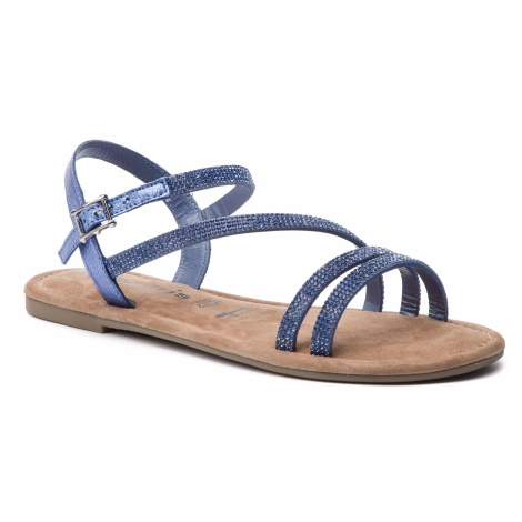 Sandały TAMARIS - 1-28113-22 Bleu Glam 812